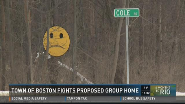 Town Of Boston Fights Proposed Group Home