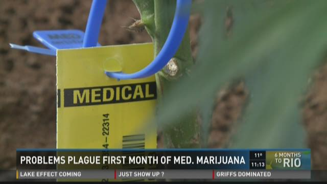 Problems Plague First Month Of Medical Marijuana
