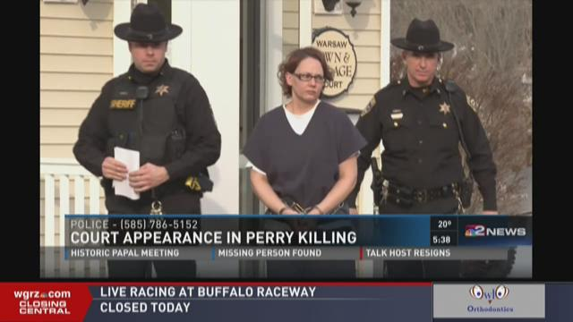 Court Appearance In Perry Killing