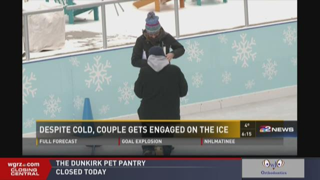 COLD WX ENGAGEMENT AT CANALSIDE