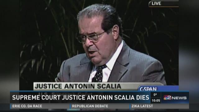Supreme Court Justice Scalia dies