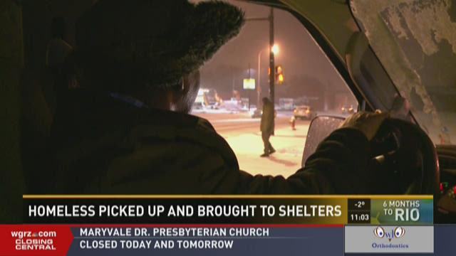 Rev. Kerr's mission to serve the homeless