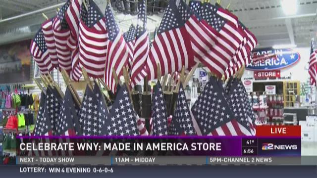 Celebrate WNY: Made in America Store Pt  2