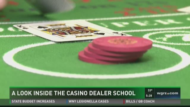 Casino dealer school mass