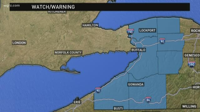 Lake Effect Snow Warning