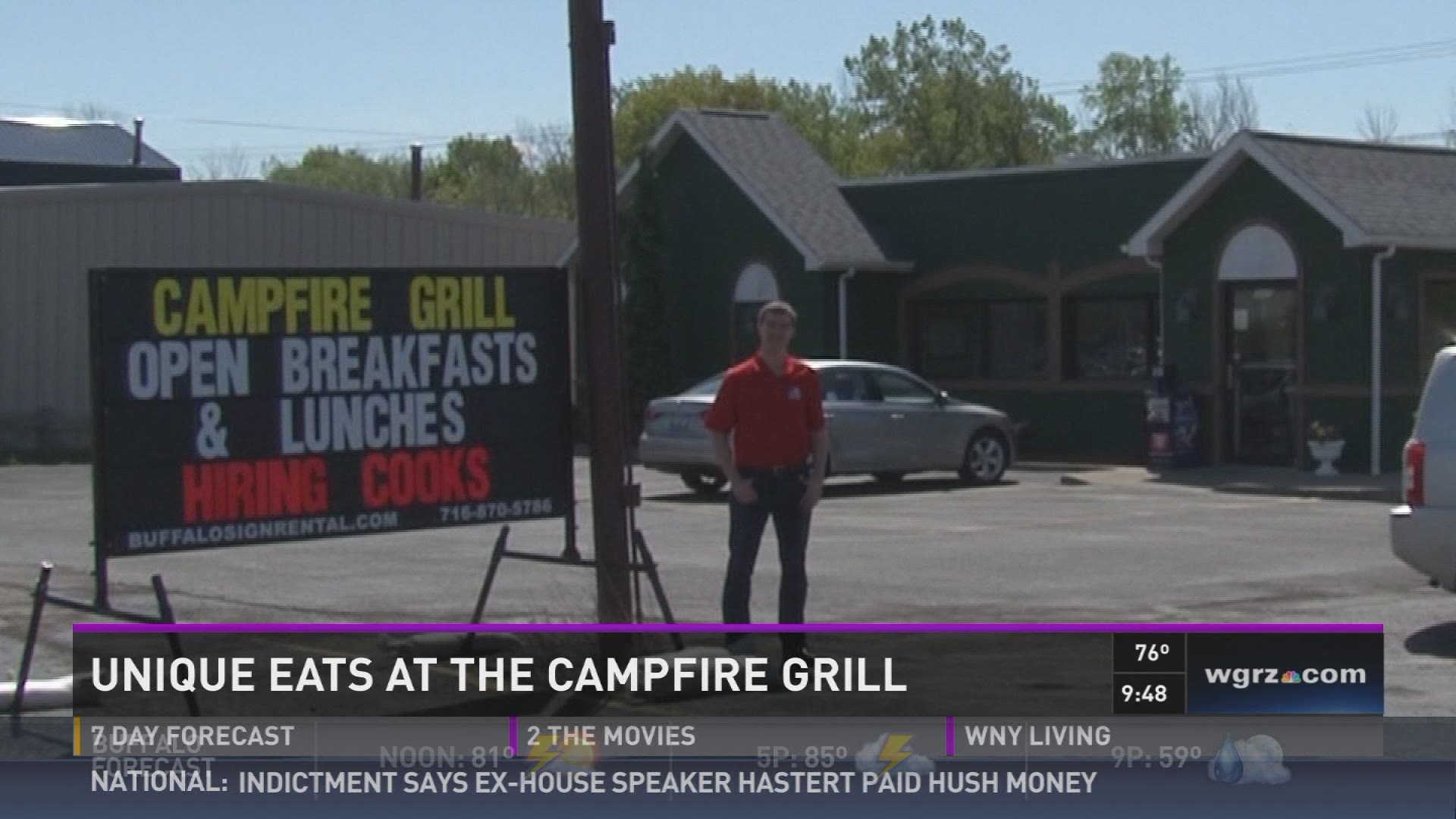 Campfire Grill Depew Eats at The Campfire Grill