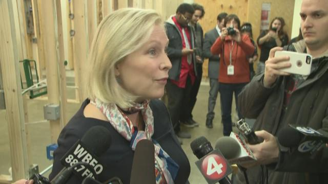 Gillibrand gets fight she wants after Trump's fiery tweet