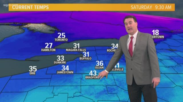 Winter weather advisory in effect for the Lehigh Valley into Christmas morning
