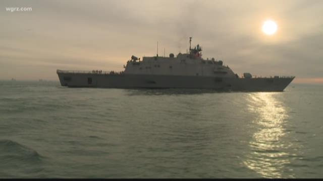New US Navy Warship Trapped in Canada Until Spring Due to Ice