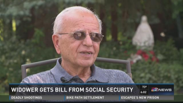 Widower Gets Bill From Social Security