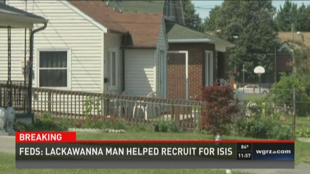 Lackawanna Man Helped Recruit for Isis
